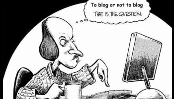 shakespear blogging